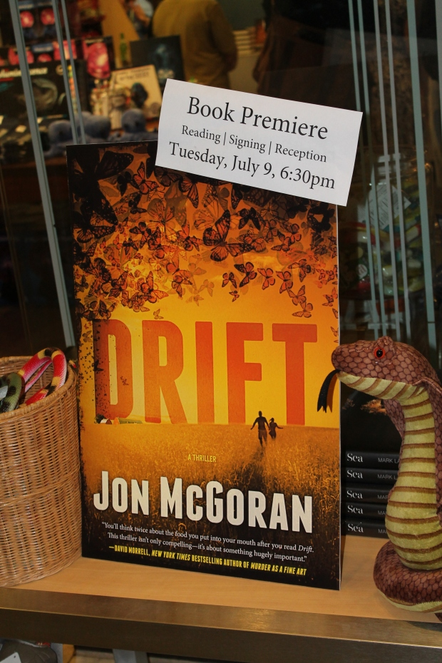 Drift Book Signing