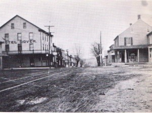 Undated-looking from 2 N. Main towards Weiglestown.