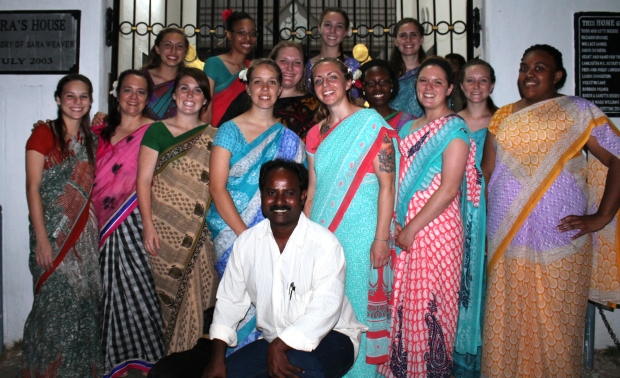 Brother Ananda and all the sisters