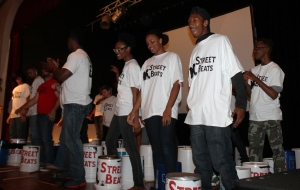 YDC Streetbeats were a hit with the crowd.